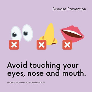 Green Disease Prevention Instagram Post.