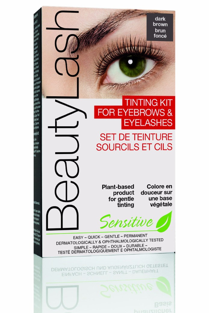 Beauty Lash Tinting Kit Sensitive Dark Brown