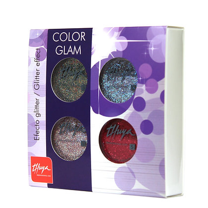Thuya Gel On-Off Color Glam Kit 4 Pieces