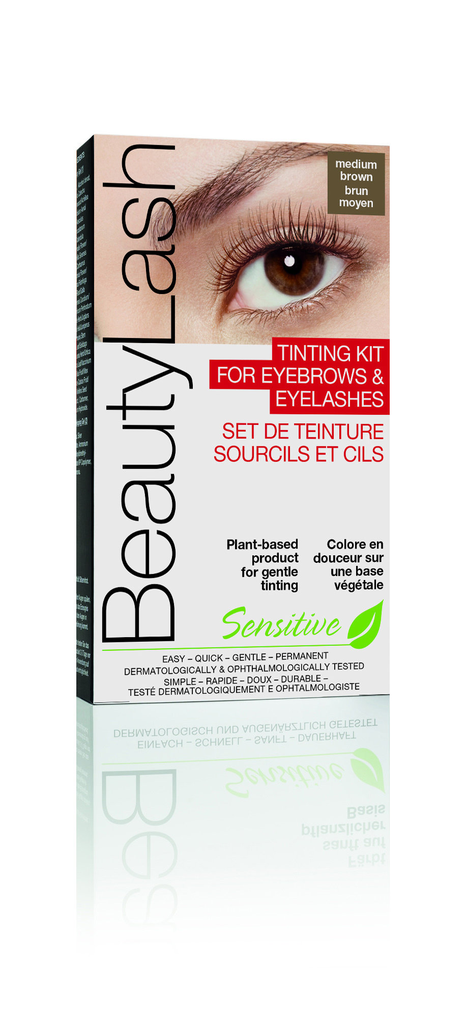 Beauty Lash Tinting Kit Sensitive Medium Brown