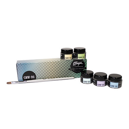 Kit Sand Gel (5 colours/Brush)