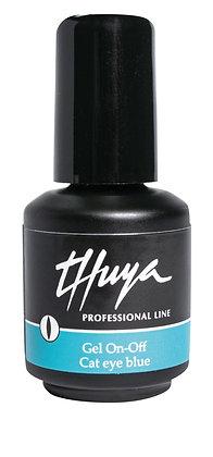 Thuya Gel On-Off Cat Eye Blue 14 ml