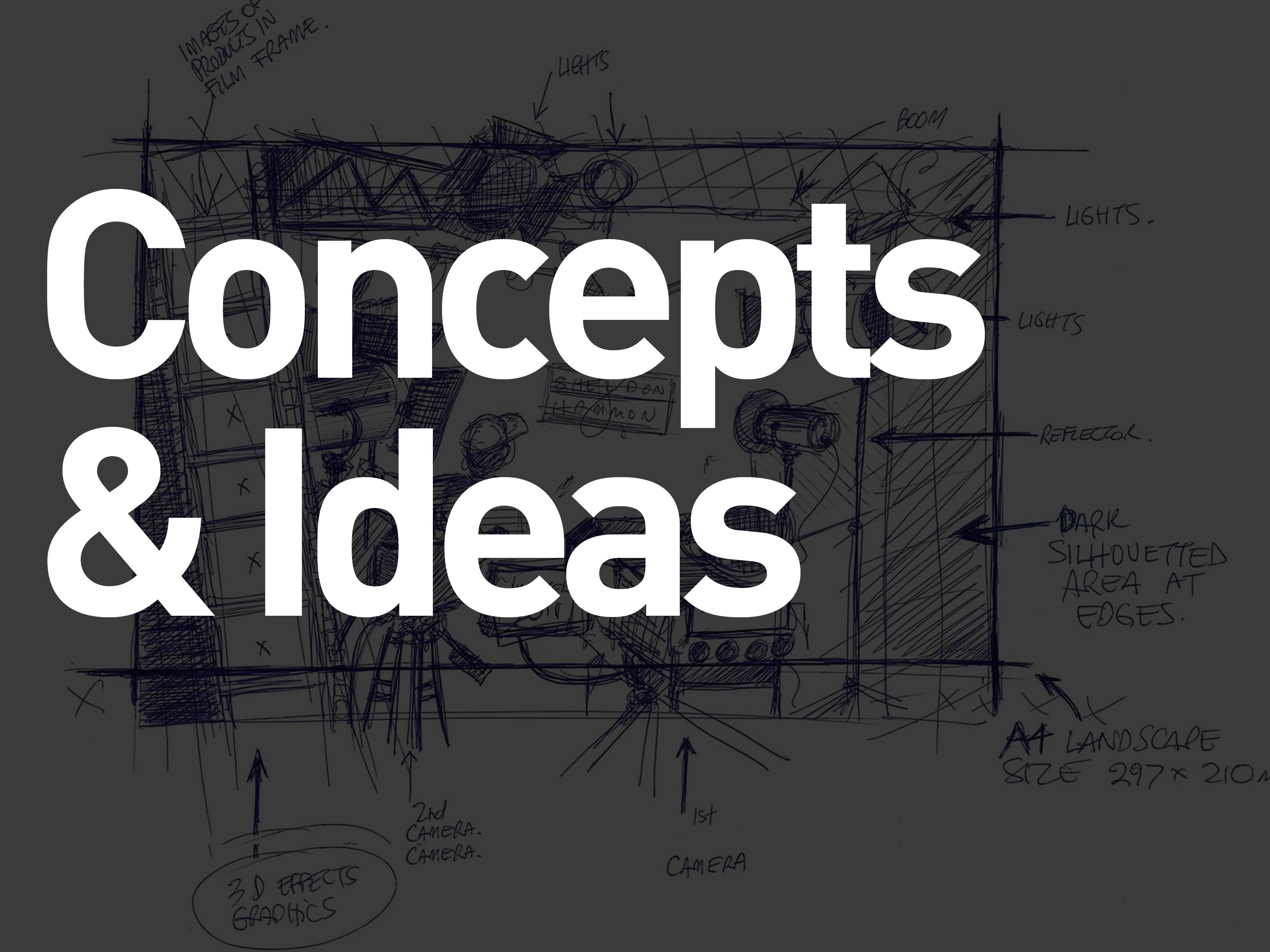 Concept & Ideas
