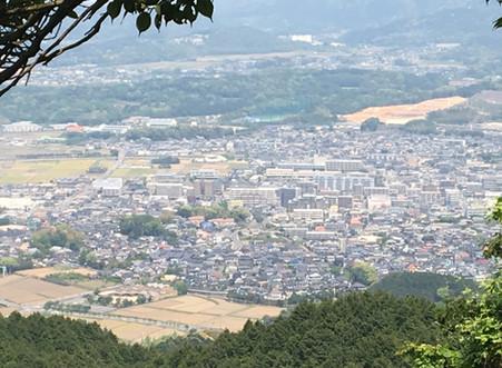 岳城山 登山
