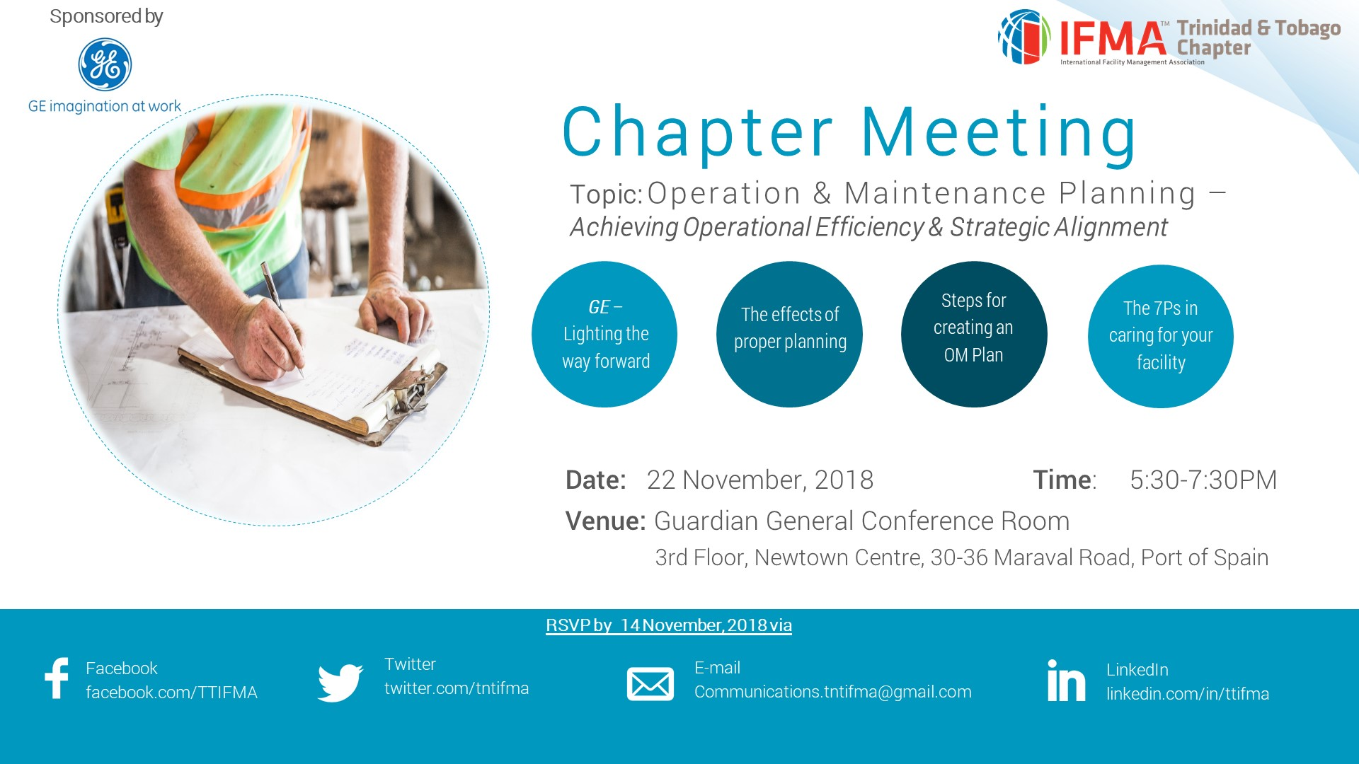 Chapter Meeting Flyer- Nov 2018