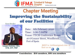 TTIFMA Chapter meeting flyer - Vaughn Ha