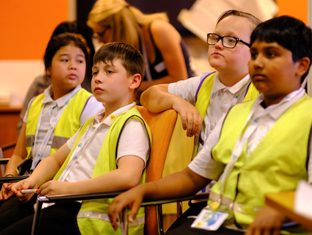 Star Primary Students Become Bankers of the Future at Bó During Their World of Work Day