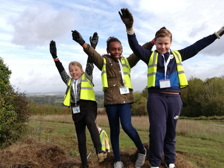 St George's Beneficiary C of E Primary School Support Local Conservation Efforts