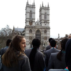 Exploring the World Of Work at Westminster with Langley Academy Students.