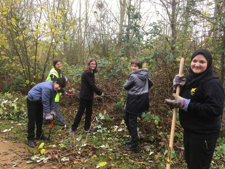 Ditton Park Academy Students Play Their Part and Volunteer at Herschel Park