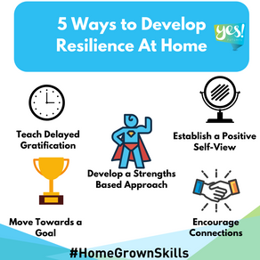 5 ways to develop resilience outside of school