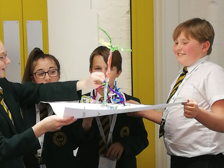 King Edmund Students get Creative at Hawkins Brown Architects