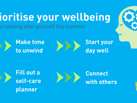 It's time to prioritise your wellbeing