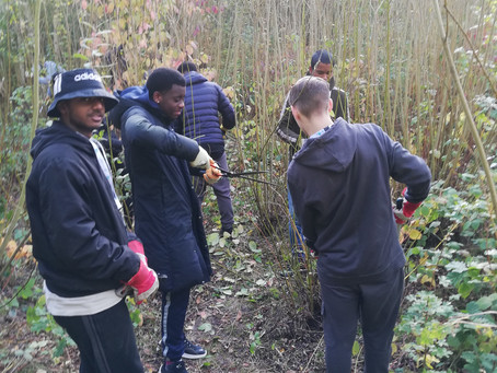 Exceptional Community Engagement from Eastbrook Students at Eastbrookend Country Park