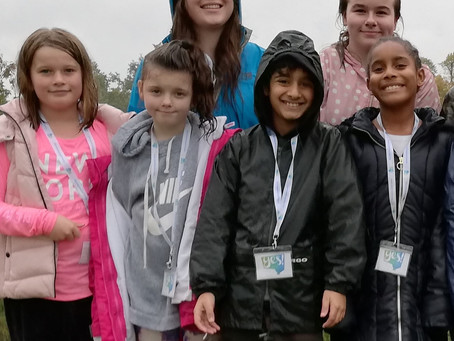 Resilient Students from Loudwater Combined School Volunteer at Herschel Park - Despite the Rain!