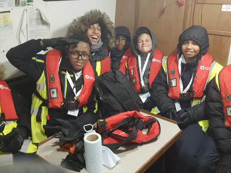 Marylebone School Rising Futures Students Volunteer with the Canals and Rivers Trust