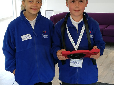 Trinity Road School Ventures to Plowman Craven for their World of Work Day