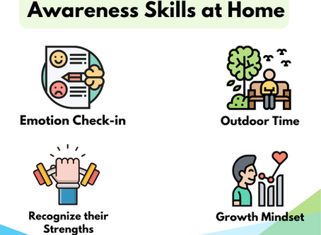 Developing young people's self-awareness skills at home