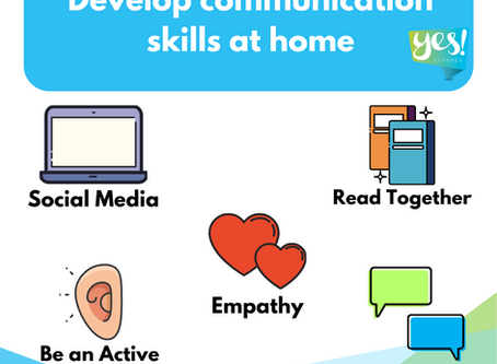 Ideas to develop communication skills while studying at home