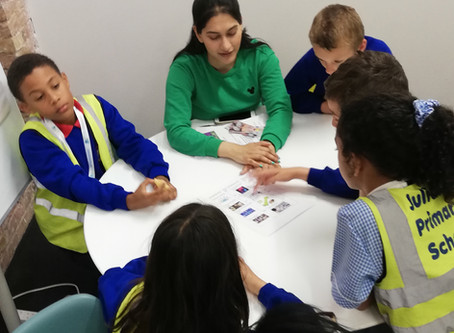 Julian's Primary Students Become App Developers at Zone Digital for World of Work Day