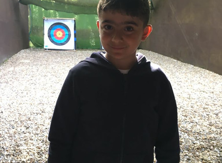 Lucky Year 5 pupil goes 'Into the Wild'