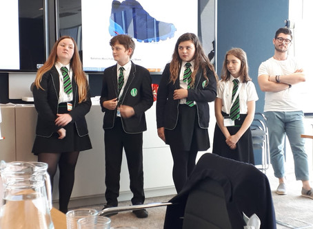 Hoe Valley Students Become Marketing Professionals at ZS Associates for World of Work Day