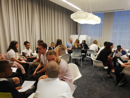 Five Elms Builds the Future at Hawkins\Brown for World of Work Day