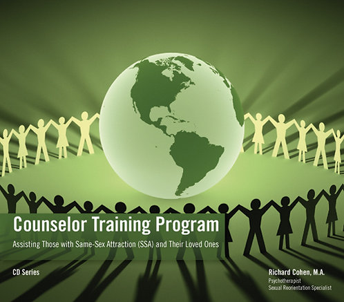 Counselor Training Program: 16-Disc CD Set+Manual