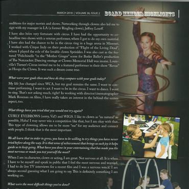 Taylor Moss, World Clown Association