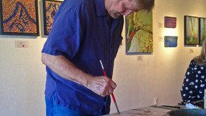 Randall Tipton Demo Using Yupo Paper!