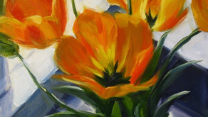 """Golden Tulips"" and Jo Reimer's Studio"