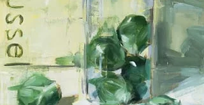 Brussel sprouts, a recipe for you, and a new commission