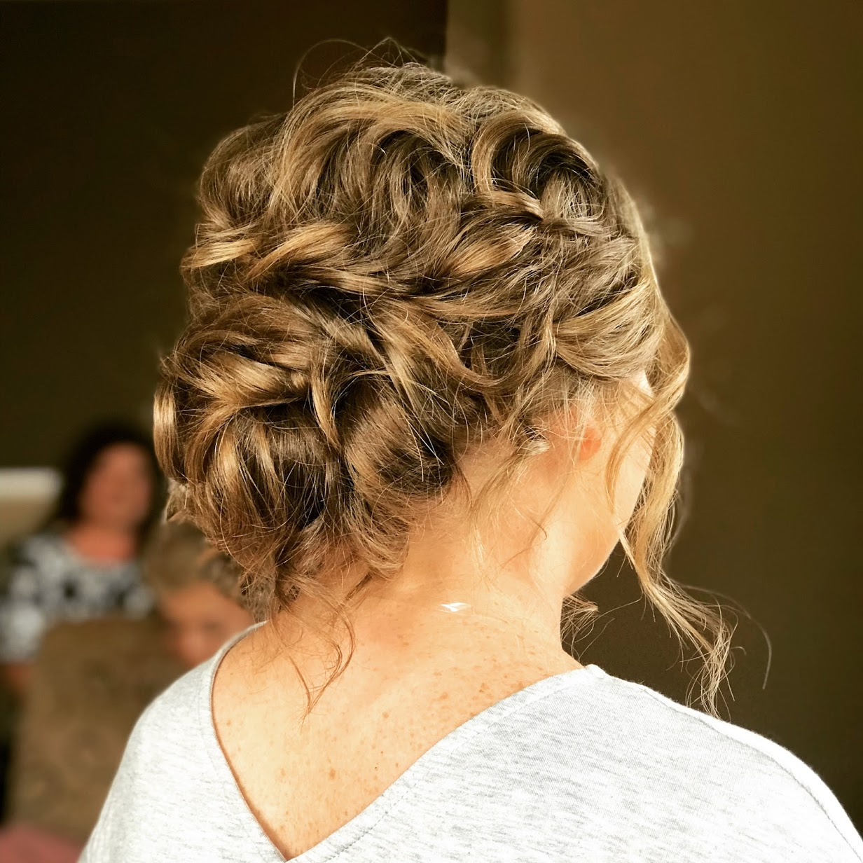 Updo with Texture