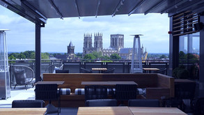 Yorks latest boutique hotel with a rooftop bar