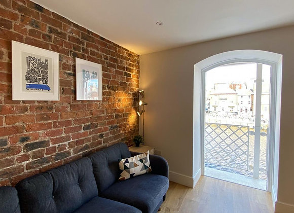 WIN 2 NIGHTS IN THIS RIVERSIDE APARTMENT, YORK