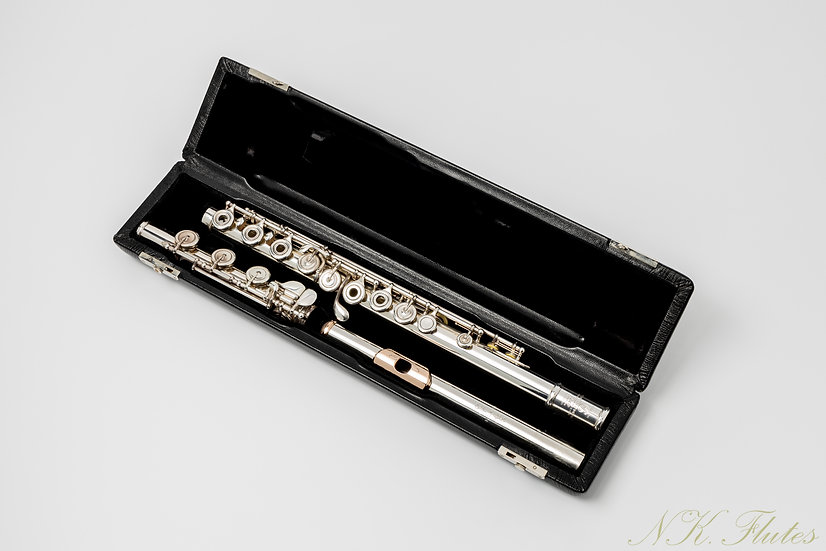 """Pre-Owned Brannen Brothers """"Brögger Flute"""" in 15/85 Gold-Silver Alloy"""