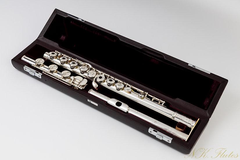 Pre-Owend Muramatsu Handmade Custom Flute Model SR #70068