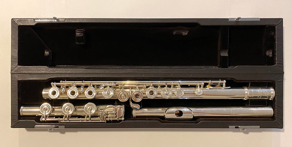 Pre-Owned Miyazawa Handmade Flute Model 202