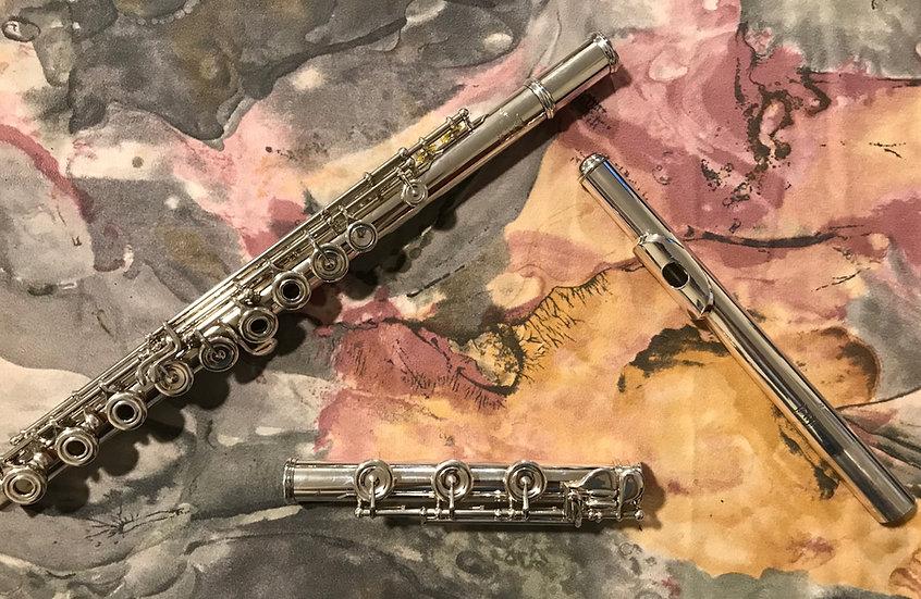 Brannen Cooper #7871 All Silver Flute
