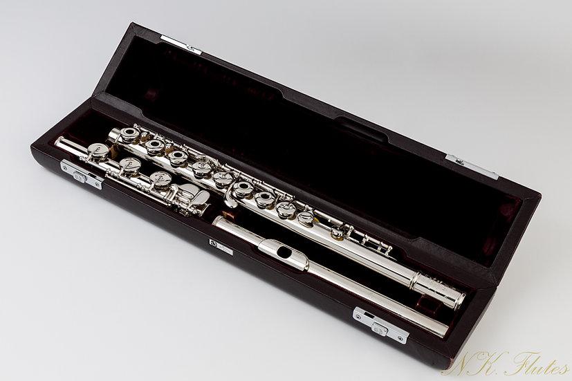 Pre-Owned Muramatsu PTP Handmade flute, Serial #62243