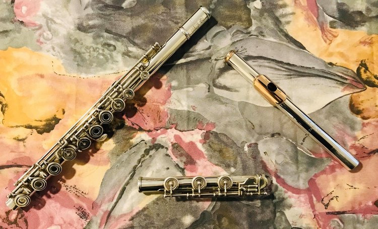 "Pre-Owned Brannen Brothers ""Brögger Flute"" in 15/85 Gold-Silver Alloy"