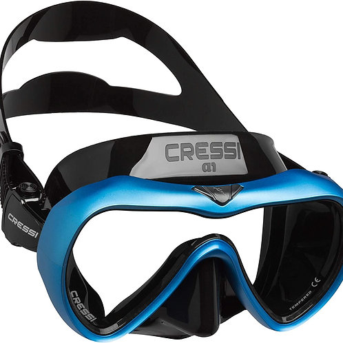 Cressi Anti-Fog Wide View Single Lens Scuba Diving and Freediving Mask
