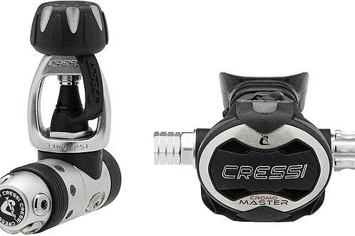 Cressi AC10V Master Cromo Regulator, Yoke
