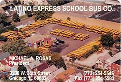 Latino Express business card