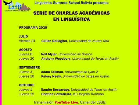 Serie de Charlas Académicas en Lingüísticas