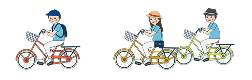 說說人騎腳踏車