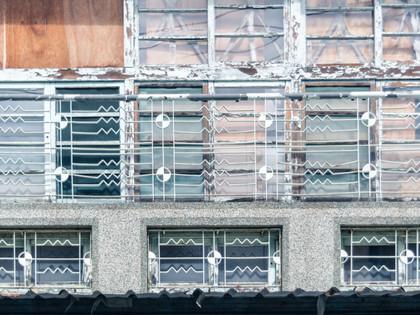 翻閱北投街屋的中古容顏(一):鐵窗花