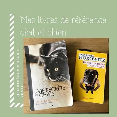 Livre de référence chien et chat