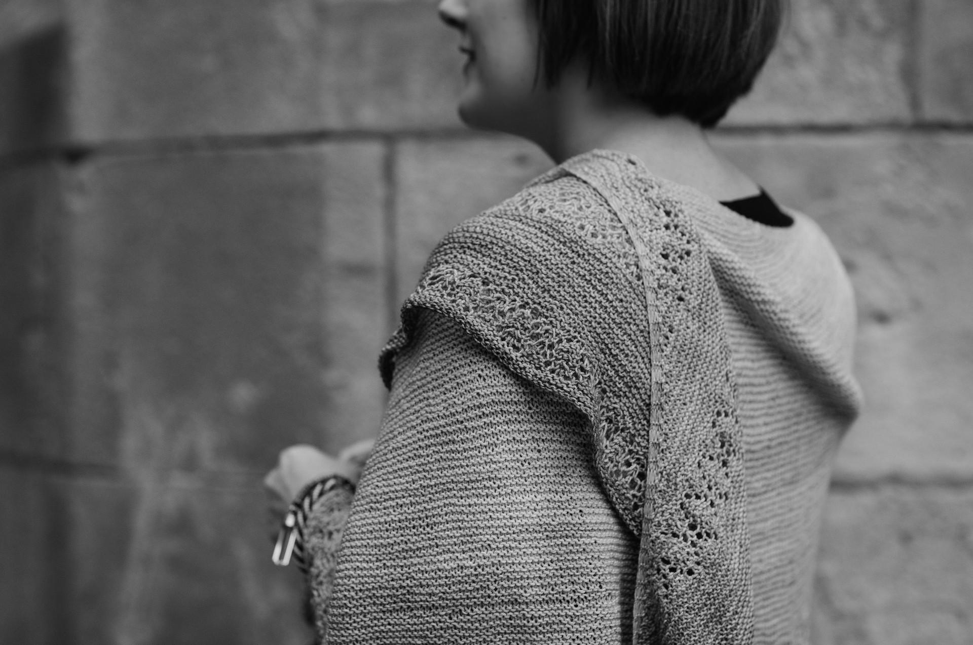 Frozen fields shawl