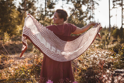 Dust and Clay Shawl